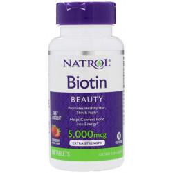 Витамин B Natrol Biotin 5000 90 таблеток
