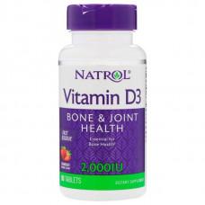 Витамин D Natrol D-3 2000 90 таблеток