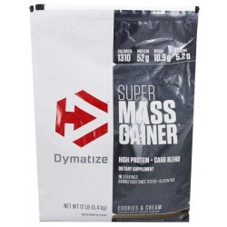 Гейнер Dymatize Nutrition Super Mass Gainer 5430 г Cookies and Cream