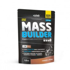 Гейнер VPLab Mass Builder 1200 г Cookies & Cream