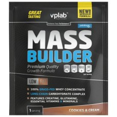 Гейнер VPLab Mass Builder 100 г Cookies & Cream
