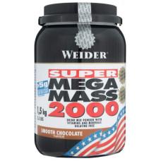 Гейнер Weider Mega Mass 2000 1500 г Smooth Chocolate
