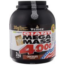 Гейнер Weider Mega Mass 4000 3000 г Vanilla