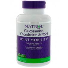 Глюкозамин хондроитин MSM Natrol 150 табл.