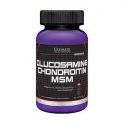Глюкозамин хондроитин MSM Ultimate Nutrition 90 табл.