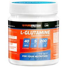 PureProtein L-Glutamine 200 г яблоко