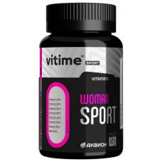 Витаминно-минеральный комплекс Vitime Аквион Woman Sport 60 капсул