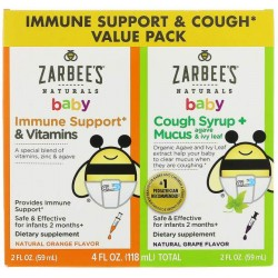 Добавка для иммунитета Zarbee's Naturals Baby Immune Support&Cough Syrup 118 мл