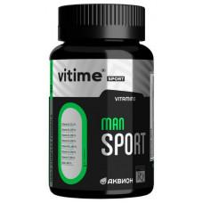 Витаминно-минеральный комплекс Vitime Аквион Man Sport 90 капсул