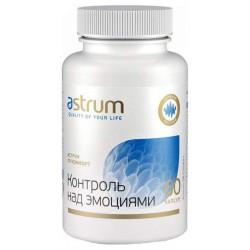 Добавка для нервной системы Astrum Контроль над эмоциями 60 капс. натуральный