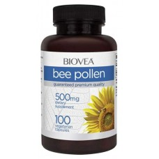 Добавка для здоровья BIOVEA Bee Pollen 100 капс. натуральный