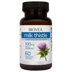 Добавка для здоровья BIOVEA Milk Thistle 60 капс. натуральный