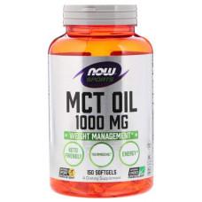 Другие масла и жиры NOW Mct Oil 150 капс.