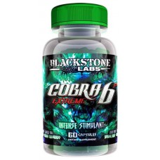 Жиросжигатель BlackStone Labs Cobra 6p Extreme, 60 капсул