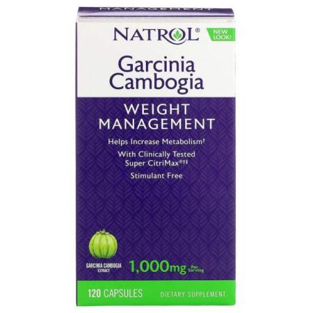 Жиросжигатель Natrol Garcinia Cambogia Extract, 120 капсул
