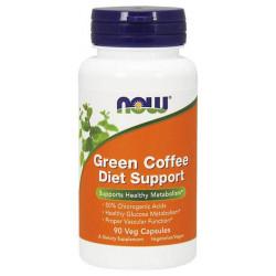 Жиросжигатель NOW Sports Green Coffee Diet Support, 90 капсул