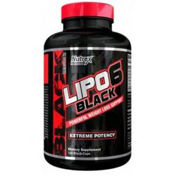 Жиросжигатель Nutrex Lipo 6 Black, 120 капсул