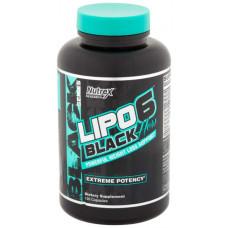 Жиросжигатель Nutrex Lipo 6 Black Hers, 120 капсул