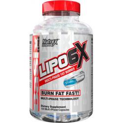 Жиросжигатель Nutrex Lipo 6X, 120 капсул