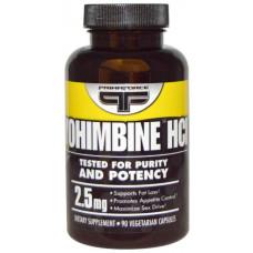 Добавка для здоровья Prima Force Yohimbine Hcl 90 капс. натуральный