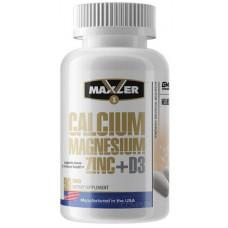 Кальций Maxler Calcium Zinc Magnesium 90 таблеток