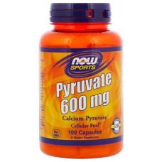 Кальций NOW Sports Pyruvate Calcium 100 капсул