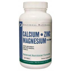 Кальций Universal Nutrition Calcium Zinc Magnesium 100 таблеток