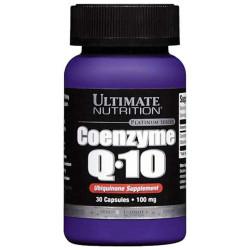 Коэнзим Ultimate Nutrition Coenzyme Q10 30 капсул