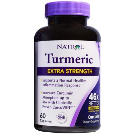 Куркумин Natrol Turmeric Extra Strength 60 капс.