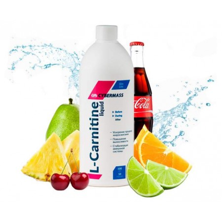 CyberMass L-Carnitine Liquid, 500 мл, ананас