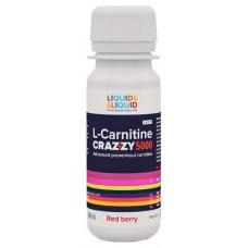 Liquid&Liquid L-Carnitine Crazzy 5000, 1 ампула 60 мл, Red berry