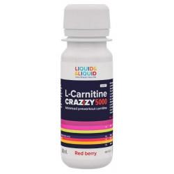 Liquid&Liquid L-Carnitine Crystal 5000, 1 ампула 60 мл, Red berry