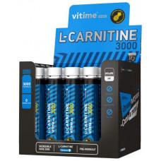 Vitime L-Carnitine 3000, 1 ампула 25 мл, Pineapple