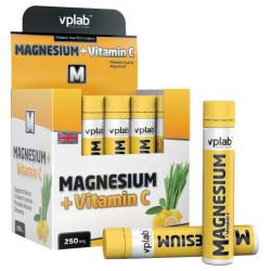 Магний и витамин C VPLab Magnesium + Vitamin C 20 ампул по 25 мл