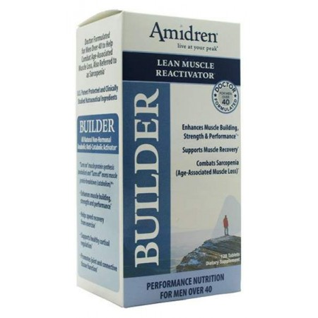 Многокомпонентный препарат MHP Amidren Builder 120 табл. натуральный