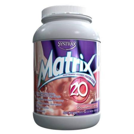 Протеин Syntrax Matrix 2.0 920 г Strawberry Cream