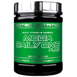 Витаминно-минеральный комплекс Scitec Nutrition Mega Daily One Plus 120 капсул