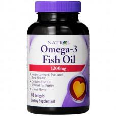Omega-3 Natrol Fish Oil 150 капс.