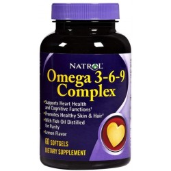 Omega 3-6-9 Natrol 90 капс.