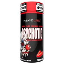 Предтренировочный комплекс Insane Labz Psychotic 150 капс. натуральный вкус