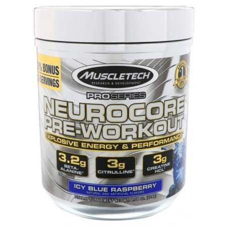 Предтренировочный комплекс MuscleTech Neurocore Pro Series 229 г голубика