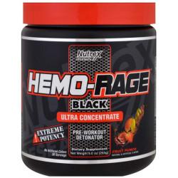 Предтренировочный комплекс Nutrex Hemo Rage Black Ultra Concentrate 213 г фруктовый пунш