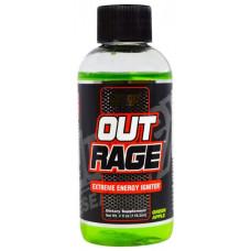 Предтренировочный комплекс Nutrex Outrage Shots 188 мл зеленое яблоко