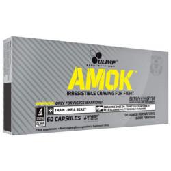 Предтренировочный комплекс Olimp Amok 60 капс. натуральный вкус