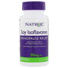 Добавка для здоровья Natrol Soy Isoflavones 60 капс. натуральный