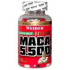 Бустер тестостерона Weider Maca 5500 120 капс. натуральный