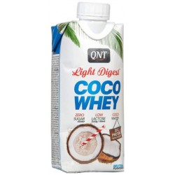 Белковый коктейль QNT Coco Whey Light Digest 330 мл кокос