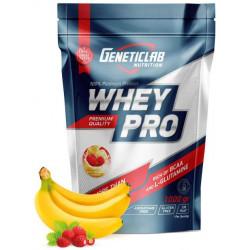 Протеин GeneticLab Nutrition Whey Pro 1000 г Banana-Wild Strawberry