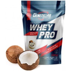 Протеин GeneticLab Nutrition Whey Pro 1000 г Coconut