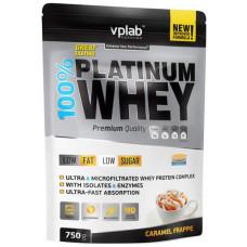 Протеин VPLab 100% Platinum Whey 750 г Caramel Frappe